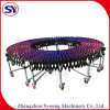 Automated Skate Wheel Telescopic Roller Conveyor for Pan Box Transmission