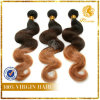 100% Human Ombre Color Brazilian Virgin Remy Hair Body Wave