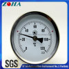 "120 Degree Celsius 63mm/2.5"" Back Connection Stem 64mm Bi-Metal Thermometer"