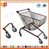 Fan/Arc Shaped Carts Supermarket Shopping Trolley (ZHt277)