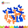 Math Manipulatives Jigsaw Puzzle Toys Plastic Pentominoes