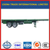3 BPW Axles 40FT Container Flat Bed Semi Trailer