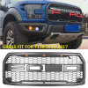 Car Accessories Front Bumper Grill for F150 Grille 2015-2017