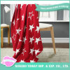 Airline Red Star Soft Knitted Woven Outdoor Cotton Blanket