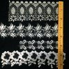 Tassel Lace Trim Wedding Dress Ribbon Embroidered Applique DIY Clothing Accessories Sewing Black Flower Trim Lace