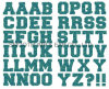Wholesale Fashion Colours Custom Printing Sticker Brand Logo Letter Transfer