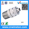 Straight Brass Push on Pneumatic Steel Pipe Fitting with CE