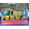 Child Cartoon Inflatable Jumping Bed/0.55mm PVC Inflatable Bouncer Castle