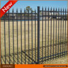 Black Powder Coated Galvanized Steel Fence Panels