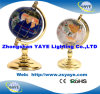 Yaye 18 Best Sell Zinc Alloy Stand 330mm/220mm/150mm/110mm/80mm World Globe/Globe