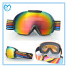 Fashion TPU Frame Womens Snowboarding Goggles with Interchangeable Lens