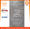 Polycarbonate Resin Double C Phoenix Chair in Transparent Color