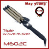 M602c Top Sales Tourmaline Coating LCD Display Hair Curler