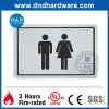 Door Fitting SS304 Sign Plate for Public Washroom (DDSP003)
