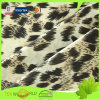 Leopard Printing Elastic Knitting Satin Single Jersey Fabric (JNE4102)