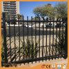 Through Weld Black Powder Coating Aluminum Ornamental Fence