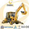 Hot Sale 4.5tons Small Wheel Excavator with Weichai Engine