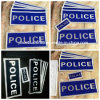 Reflective Sew on Police Patch (FBS-RP002)