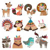 5D Diamond Painting Puzzles Animal Sticker for Kids