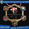 Newest Customized Memorable Metals Medal with Ribbon