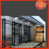 Customized Color Metal Contemporary Clothing Display Shelves for Store
