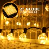 Warm White G40 Bulb Copper Wire LED String Light for Outdoor Decoration