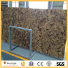 Giallo/Brown Color Flower Quartz Stone for Kitchen Countertop