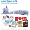 Ketchup/Paste/Sauce/Shampoo/Lotion/Essence/Nutrient/Honey/Protein/Coffee Powder/Liquid Drink/Granule Sugar Automatic Sachet Stick Pack Packaging Production Line
