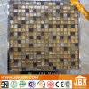 Hot Sale Items Resin Mosaic and Golden Glass Mosaic (M815048)