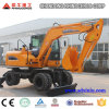 China Best 8 Ton Wheel Excavator with Best Price for Sale