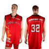 Healong Reversible Polyester Fabric Wholesales Basketball Uniforms