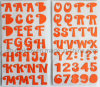 Multicolor Big Alphabets Foam Stickers for Scrapbooking and Cardmaking