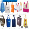 Non-Woven Woman Recycle Foldable Tote Hand Carry Shopping Bag