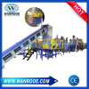 Pet Bottle Flakes Plastic Washing Line with Dewatering Machine