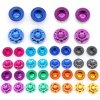 17mm Rim Wheel Nut CNC Wheel Dustproof Anti-Slip Nut/Cap for Remote Control Car 1/8 Model Car