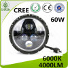 7 Inch CREE Round LED Car Light LED Driving Light for Offroad 60W