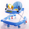 Newest Model Factory Wholesale Baby Walker with Silicon Wheels