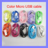 Colorful 1, /3FT Micro USB Cable Data Sync Adapter Charger Cable Multi Color for Samsung Galaxy S6 S7 S8 Edge Note 5 HTC Oppo