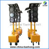 LED Traffic Light Solar with Mobile Trolly