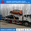 One Drive Three 10tons Car Carrier Wrecker Flatbed Towing Truck