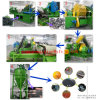 High Automatic Waste Tire Recycling Line Tyre Crusher on Sale