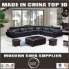 L Shape Living Room Sofa with Top Grain Leather (LZ-883)