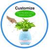 LED Night Light Bluetooth Speaker Smart Touch Music Flowerpot
