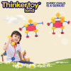 Preschool Educational Plastic Nursery Build Block Toy