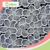100 % Milky Polyester Embroidery Lace Fashion Chemical Lace Fabric