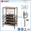 Mini Adjustable Epoxy Coated Flat Wine Rack for Home (WR603590A5E)