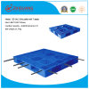 High Quality Warehouse Products 1400*1200*150mm HDPE Plastic Tray Grid 1.5t Rack Load Plastic Pallet with 7 Steel Bar