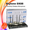 Dx-88 Skytone True Diversity Dual Handheld UHF Wireless Microphone