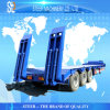 Heavy Duty Low Bed Trailer with 3-5 Axles