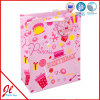 Red Heart Shape/Bow-Tie Paper Gift Shopping Bags